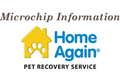 Click here to get Microchip information from HomeAgain